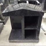 Bahama Blue Granite Two Niche Columbarium