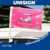 Unisign Hot Selling Car Flag with Customized Size and Design (UCF-1)