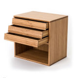 Bamboo Bedstand Document Storage Rack Box