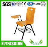Simple Design Training Chair Student Chair with Writing Pad (SF-12F)
