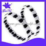 2014 Gus-Cmb-031 Hot Style Ceramic Charm Costume Bracelets Jewelry with Negative Ion Health Care for Body