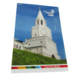 Customized 3D Plastic Post Card Printing Service