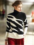 Women′s Cashmere Sweater Round Neck 16brdw021