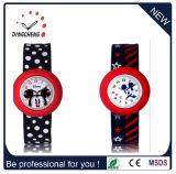 Slap Watch Silicon Detachable Quartz Watch with Silicone Band (DC-704)