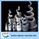 Whirljet Spiral Nozzle for Dust Suppression