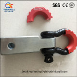 Trailer Hitch Receiver Shackle D Ring Mount with Isolator