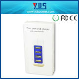 EU Portable Wall Mobile Phone Charger with 4 Ports USB