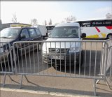 Traffic Safety Control Portable Steel Barrier/32mm Road Steel Barrier