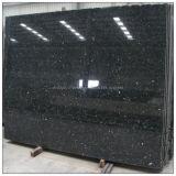 China Manufacture Black Granite Slab