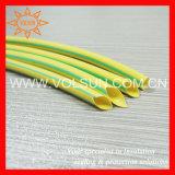 Thin Wall Green-Yellow Heat Shrinkable Tubing