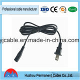 High Quality UL Standard American Extention Cord 2 Pin AC Power Cord with Male and Female Plug