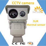 Dual Sensor Long Range IP PTZ WiFi Wireless Thermal Camera 17km
