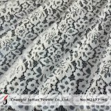 Heavy Scalloped French Lace for Wedding Dresses (M2177-MG)