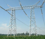 Electric Power Transmission Line Steel Tower