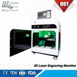 3D Laser Engraving Machine for Crystal, Christmas Gifts