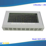120W Red Blue Orange White Full LED Grow Light (SGP-120W)