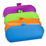 Fashion Colorful Silica Gel Cosmetic Bag / Fashion Bag (KCC112)