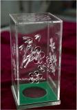 Custom Acrylic Single Wine Glass Gift Box (BTR-Y3014)