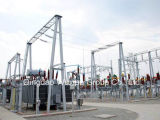 Ehv Uhv Power Transmission Transformation Substation Structure