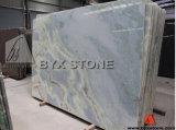 Calcite Caraibica Green Granite Slab for Flooring, Wall, Countertop