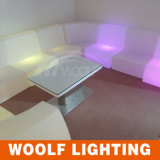 Modern Luxury LED Light Living Room Center Coffee Table
