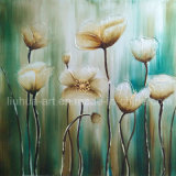 Canvas Wall Art Decorative Palette Knife Flower Painting (LH-700564)