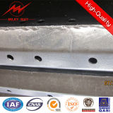 40FT 3mm Thickness Galvanized Steel Electric Transmission Pole