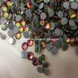 China Factory Wholesale Decorative Shiny Leed Free and Multi Size Cheap Loose Flat Back Hotfix Crystal Rhinestone for Garment
