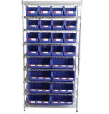 Wire Shelving with Bins Unit, Wire Shelving System (WSR3618-004)