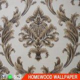 Home Decoration PVC Deep Embossed Wallpaper Jg1106