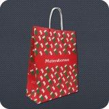 Colorful Custom Printed Paper Shopping Bag
