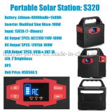 Outdoor Portable Solar Generator Lithium Battery Power Station
