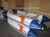 Liya 2m-3.6m PVC Inflatable Rubber Boat for Sale