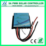 Waterproof Auto12V/24V 5A PWM Solar Charge Controller (QWP-145WP1)