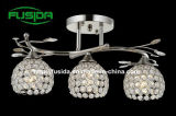 Candelabro quente Lighting de Selling Modern com Crystal