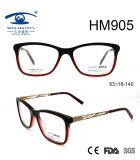 New Arrival Hot Sale Hollow Acetate Optical Eyeglasses (HM905)