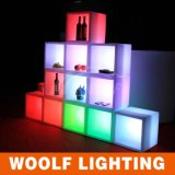 LED Lights Remote Control Decorative Wine Cooler Cabinet