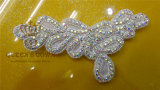 New Fashion Rhinestone Sew on Appliques for Women Wedding Dress