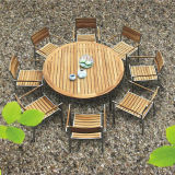 Garden Dining Table and Chair-Outdoor/Patio/Wooden Furniture