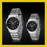 Stainless Steel Back Water Resistant Quartz Watch