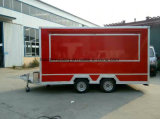2017 Red Mobile Food Truck for Sale Australia