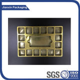 Customize Golden Plastic Chocolate Tray
