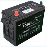 55D23L 12V 60ah Starting Car Battery