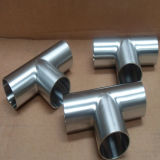 Dn25 Stainless Steel Hygienic Polished Equal Tee