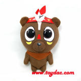 Stuffed Cartoon Cacique Bears