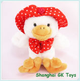 Cute Duck with Hat Baby Toys Plush Toys