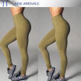 Fashion Breathable Gym Wear Legging 100% Cotton Yoga Pants