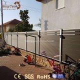 Wholesale Cheap Garden WPC Aluminum Fence Panels for Garden, Pool, Park, Villa