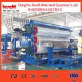 PE PVC CPE Tpo EVA Geomembrane Waterproof Sheet Extrusion Line
