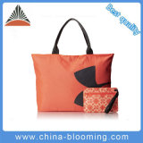 300d Polyester Ladies Shoulder Leisure Shopping Tote Bag